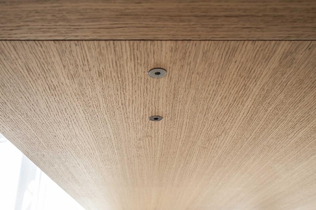 tavolo rovere, oak table, design, milano, ettore lariani, tavoli